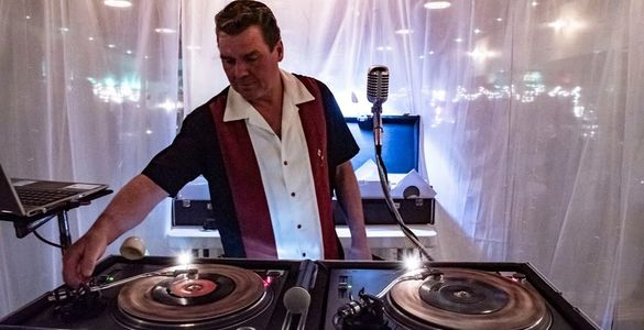 DJ Marcus is a regular at the 2nd Saturday rockabilly swing dance events with Iron City Swing.