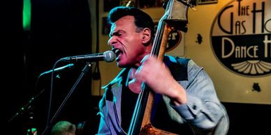 Live rockabilly music you can swing dance to.  Meet people, dance and have fun.
