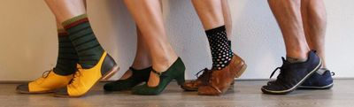 The right swing dancing shoes make you a much better dancer.