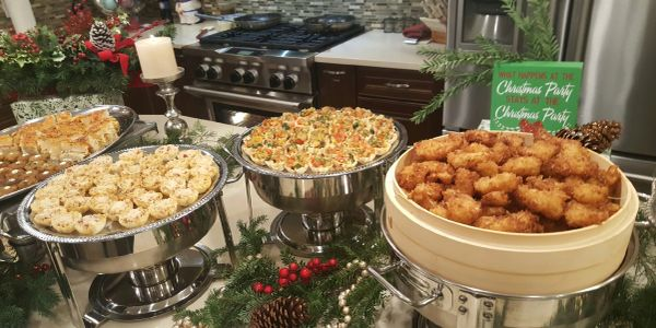 Hors d'Oeuvres and finger foods for a family or corporate event.