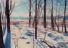 Frosty Sunrise 39 x 29 Private Collection