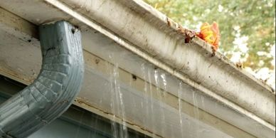 Clogged Gutter Cleaning Service in Benbrook, Christian Window & Gutter Cleaning in Fort Worth,