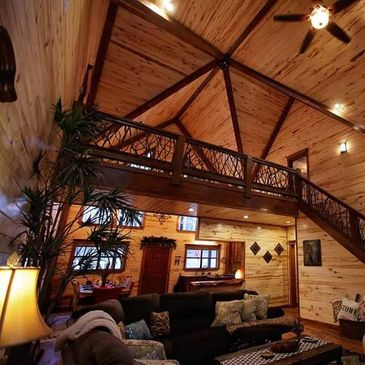 Custom Luxury Cabin in Broken Bow. Cabin Builder in Broken Bow, Ok. Luxury Custom Cabin Builder.