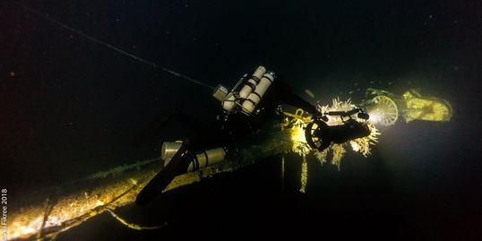 Princess of the Orient Wreck