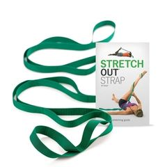 Stretch Strap used to stretch tight muscles. Comes with an instructional packet.