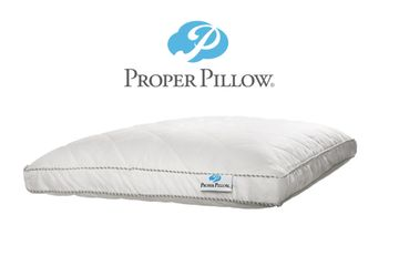 Proper Pillow used to make sure the spine has proper curvature even when you are sleeping.