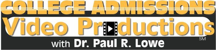 College Admssions Video Productions with Dr Paul Lowe