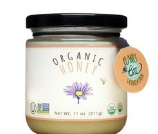 USDA certified organic raw honey