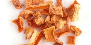 organic orange peel for tea mix
