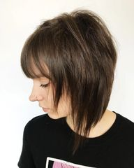 woman with edgy haircut