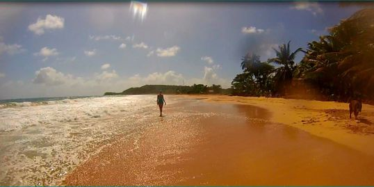 Long Bay Beach, South End, Big Corn Island.
