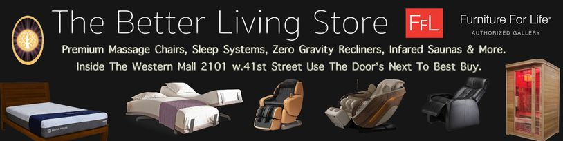 www.thebetterlivingstore.comm The_ Largest_Luxury_Massage_Chair Showroom_In_The_Midwest Sioux_Falls
