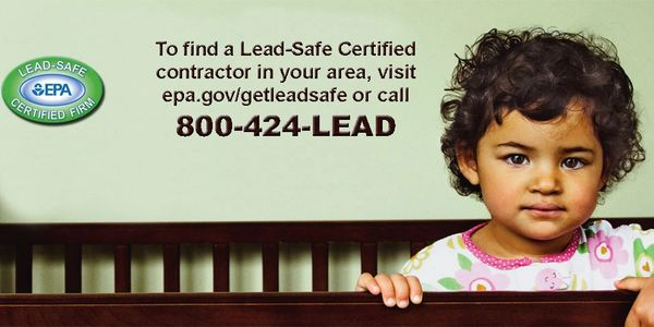EPA Lead-Safe Certified Contractor banner. Tampa, Saint Petersburg Florida.