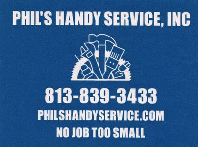 Voted Tampa's Best Handyman Service eight years in a row!