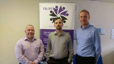 Fife IPS Employment Specialists  (Frankie, Alex & William)