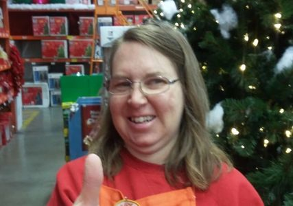 EXCEED client in Supported Employment Program working at Home Depot