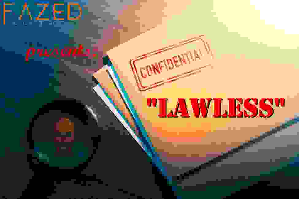 Lawless Mega Game for team building and events. A portable Escape Room for large groups.