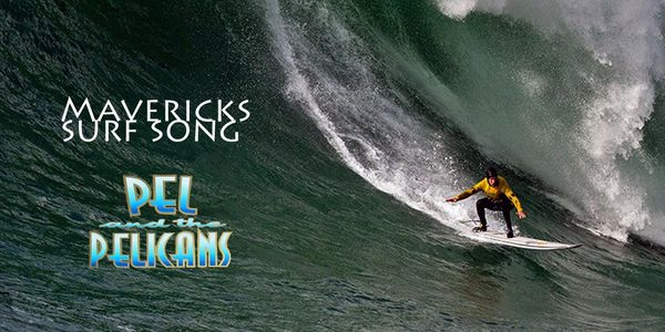 Grant Baker contest winner at Mavericks 2014 event. Photo by Brian Overfelt.
