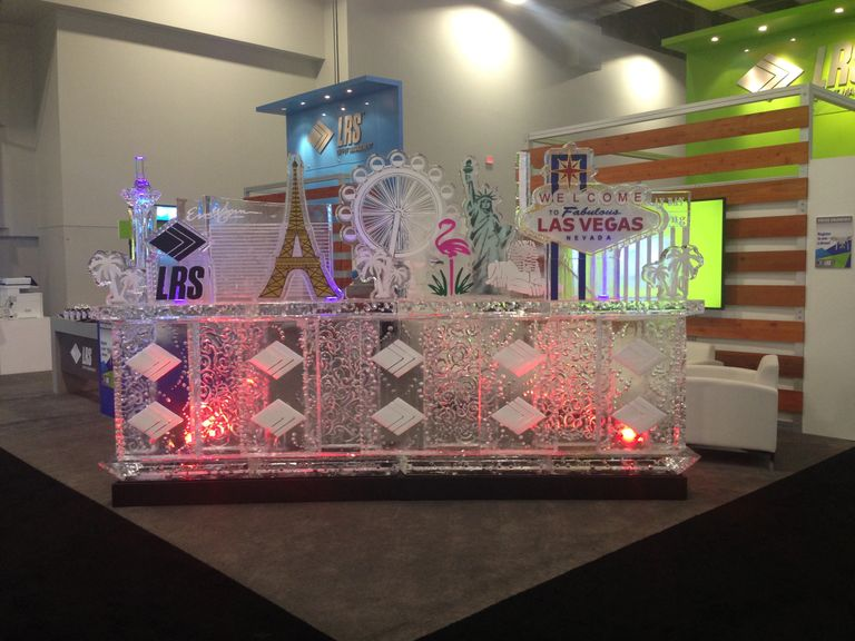 THE VEGAS ICEMAN LLC   CUSTOM ICE SCULPTING COMPANY SERVING  LAS VEGAS, NV AND SURROUNDING CITIES.​​