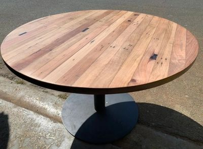 Recycled Timber Dining Table Custom Made Handcrafted BUNDALL Goldcoast Brisbane Tweed