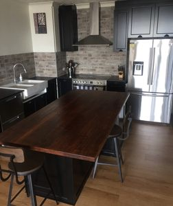 Solid Timber Bench tops for Kitchen Islands