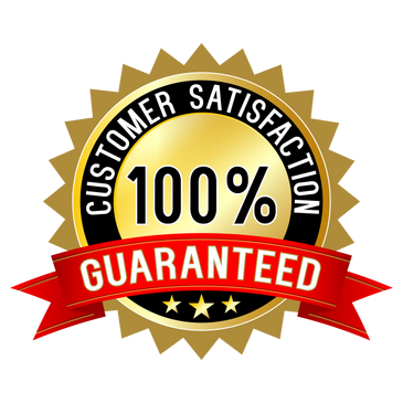 Customer Service 100% Satisfaction Guaranteed. Great Customer Service
