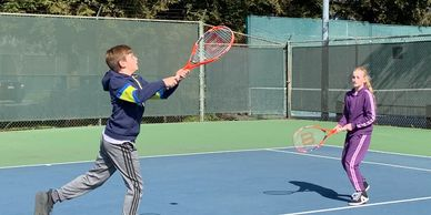 Keep your kids active after school learning the lifelong sport of tennis!
