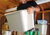 Mr. Handy Dude, Jonathan Mathis, Organizing Garage with Overhead Storage