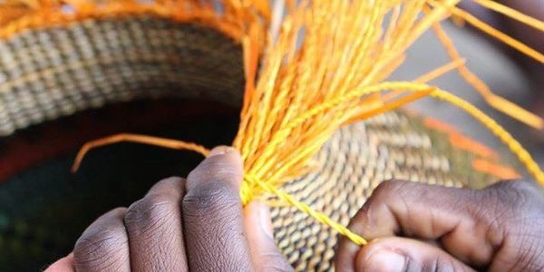 B&B Market Baskets are all handmade by the best weavers in Ghana.
