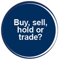Buy, sell, hold, or trade? - button linked to page