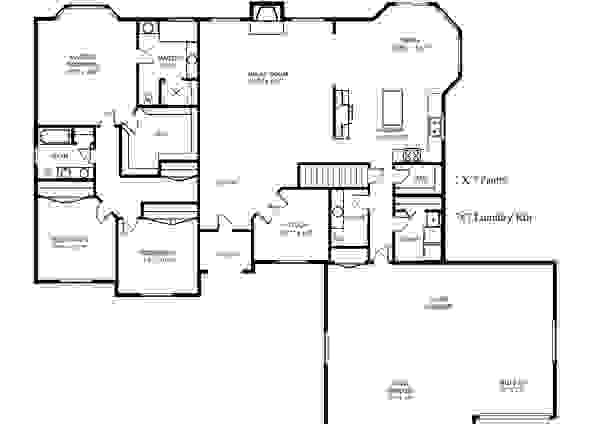 The Lacewood floor plan