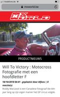 Will To Victory book featured on MXWorld.be