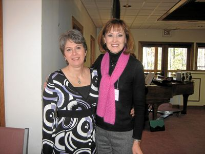 Mary Beth (right) with Beth McRee, Former Director of Women's Ministries for Christ Covenant PCA