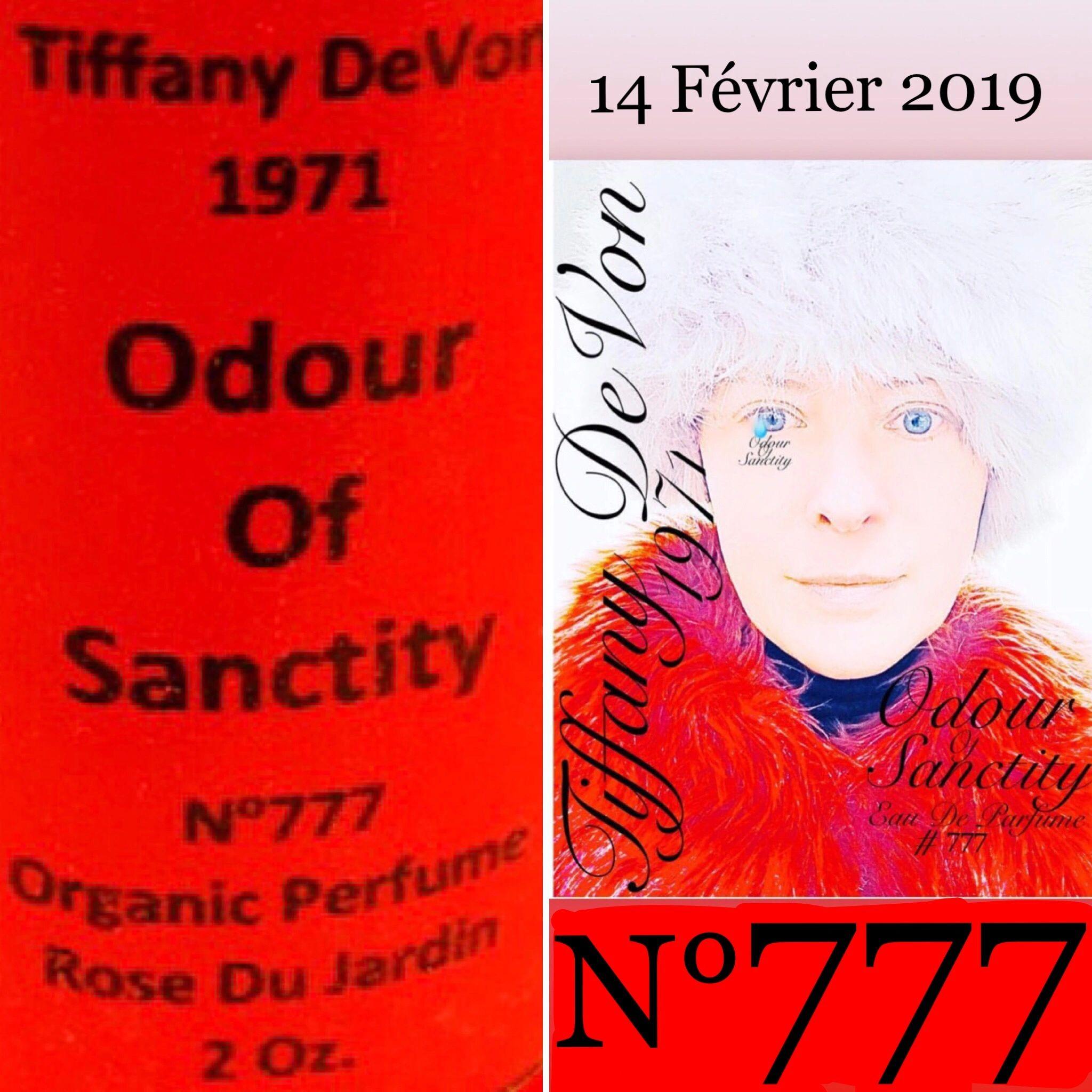 Tiffany DeVon 1971 Odour Of Sanctity N° 777 Rose Du Jardin🌹