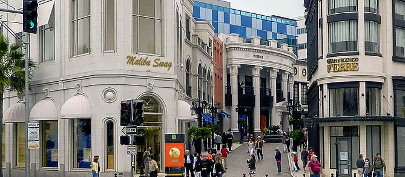 Malibu Swag Dream Location on Rodeo Drive