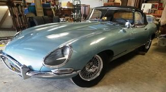 1964 Convertible XKE-Jaquar with 62,000 original miles * 1933 12 Cylinder, 7 Passenger Packard (all