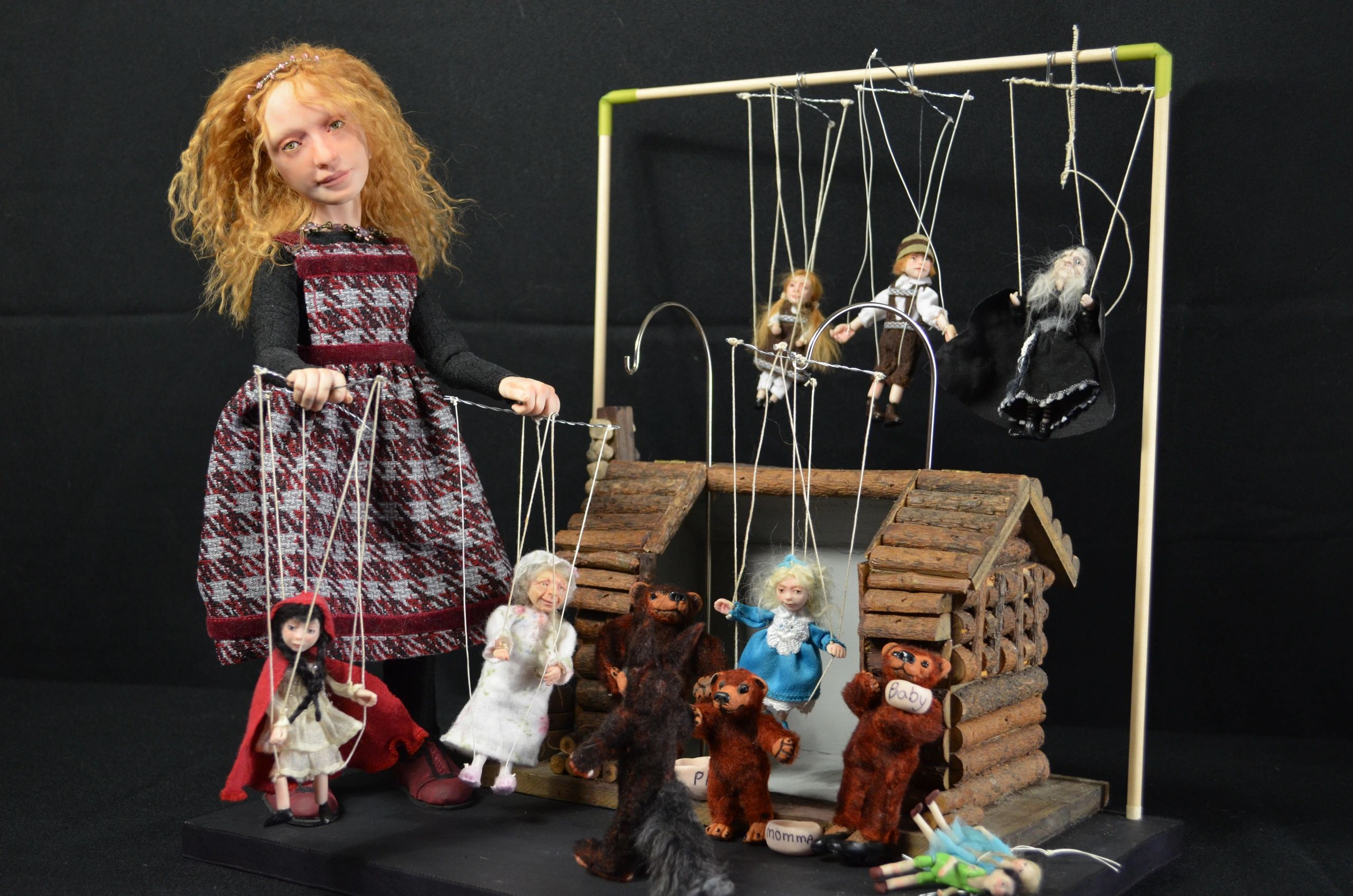 "{""blocks"":[{""key"":""o2uh"",""text"":""This is Mary the doll maker, She is a 12\"" Pose-able polymer clay doll. The set included all that is seen here. The doll and all accessories are hand made my LindaE. She was one of the Industry choice winners in the 2019 Dolls magazine Diamond Awards. She is currently part of the collection at the Quinlan Doll and Bear Museum in California. r"",""type"":""unstyled"",""depth"":0,""inlineStyleRanges"":[],""entityRanges"":[],""data"":{}}],""entityMap"":{}}"