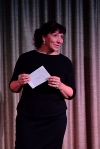 Teri Fiorito Bays, playwright & actress, performing  Joan Chittister: Her story, my story, our story