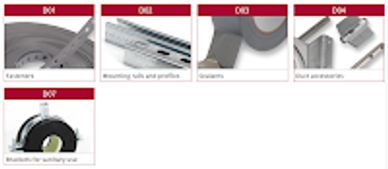 Air duct components and accessories