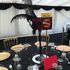Moulin Rouge Themed Centrepiece