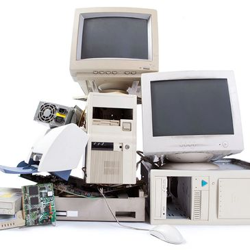 Old Computer Equipment