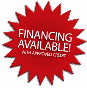 We offer financing on repairs powered by Synchrony bank. $0 interest if paid in full in 6 months