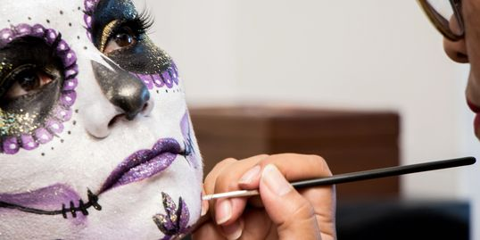 Day of the Dead in Toronto, Dia de los Muertos Toronto, Catrinas, Day of the Dead makeup