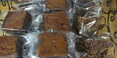 brownies, pecan brownies