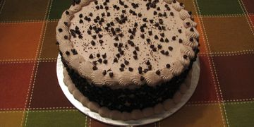 specialty cake, cannoli cake, chocolate