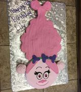 poppy the troll, cupcake cake, troll, pull a part cake