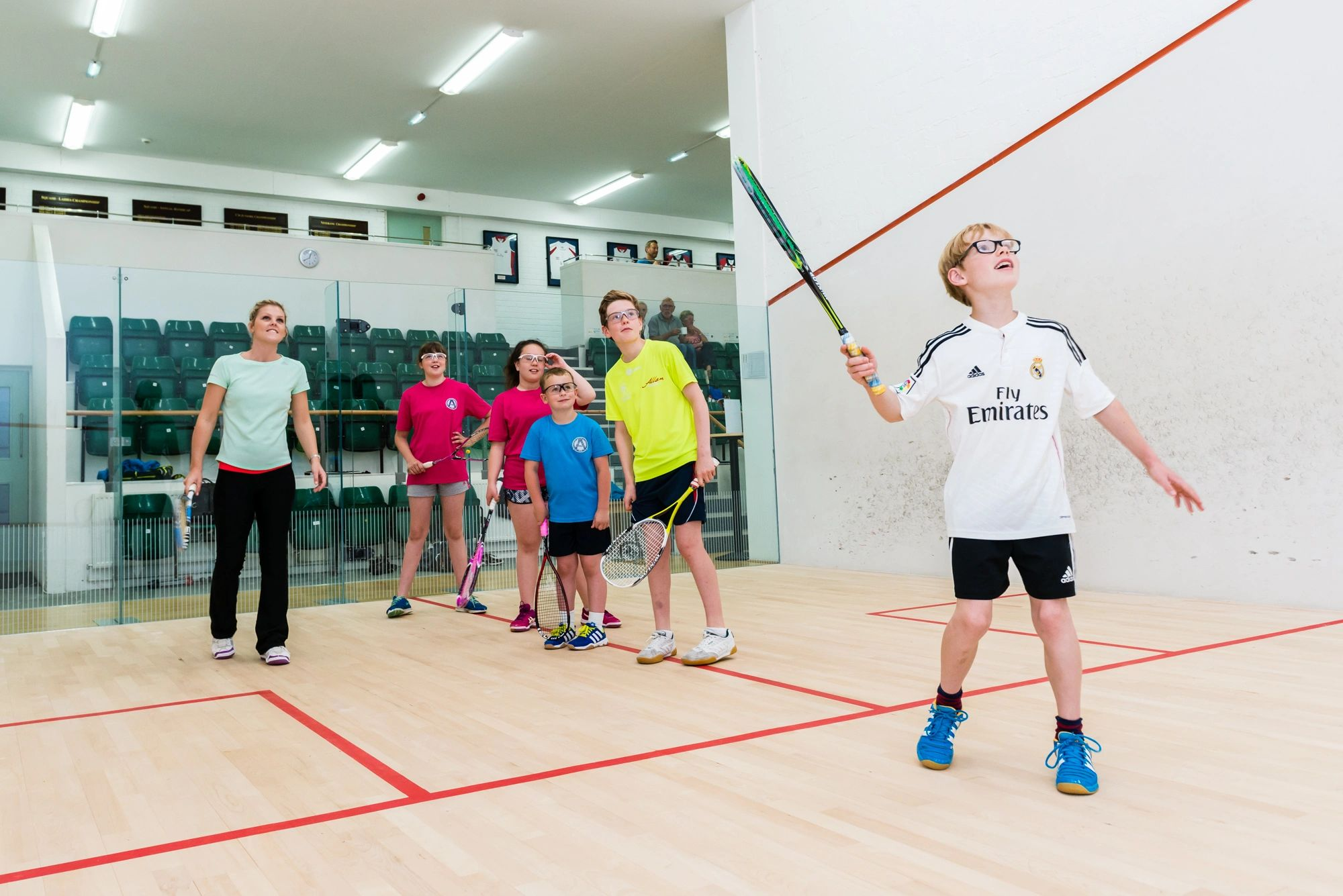 Junior Squash Coaching in Leeds with Carrie Ramsey