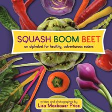 Children's book about eating healthy organic fruits and vegetables from local farms.
