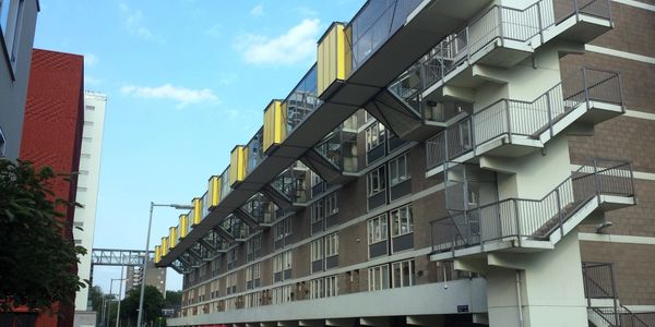 Modern architecture in Amsterdam, rental properties and investment opportunities.