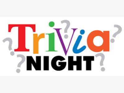 Join us for trivia starting at 8:30 PM with a chance to win a $25.00 gift certificate.